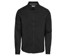 Hemd 'Shirt - Tyler LS' schwarz