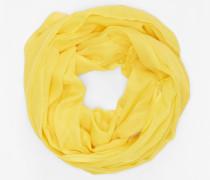 Loopschal gelb