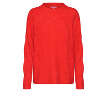 Pullover 'Pebby' rot