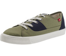 Malibu Patch Sneakers Low navy / oliv