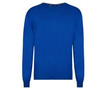 Zero Pilling Travel Pullover blau