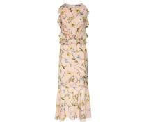 Kleid hellgrau / rosa