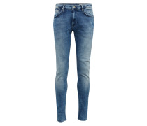 Jeans 'tapered Conroy' blue denim