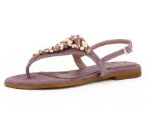 Sandale 'olimpia' lila / rotviolett