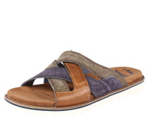 Sandale 'Limon' sand / blau / grau