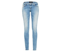 Skinny Jeans 'Clara' blue denim