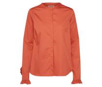 Bluse 'Mattie' orangerot