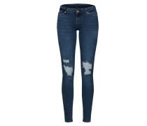 Jeans 'nmeve' dunkelblau