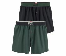 Boxer grün / schwarz