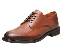 Derby Schuhe braun