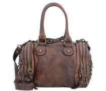 Handtasche 'Bauletto' 21 cm braun