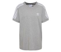 T-Shirt '3 Stripes' grau