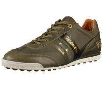 Sneaker khaki / schwarz / wollweiß