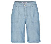 Kurze Jeans 'Gianna Worker' hellblau