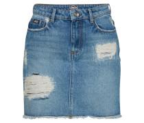 Rock 'denim Mini Skirt' blue denim