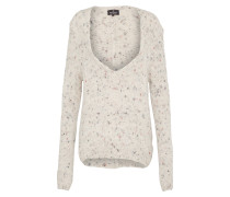 Pullover 'fluffy' taupe