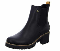 Chelsea Boots schwarz / honig