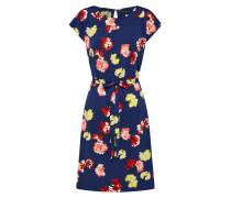 Kleid 'Mimosa' dunkelblau / mischfarben