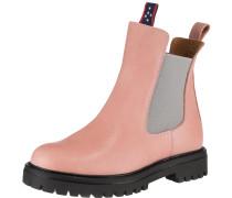 Chelsea Boots hellgrau / rosa