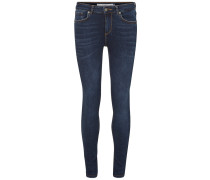 'Lux' Skinny Fit Jeans dunkelblau