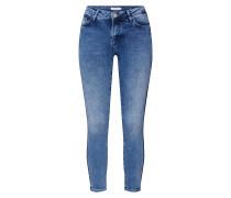 Jeans 'Lace Tape' blau