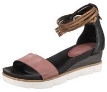 Sandalen bronze / rosé / schwarz