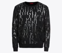 Sweatshirt 'Dowan 10184534 01' schwarz