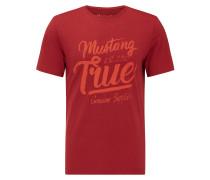 T-Shirt rot / rostrot
