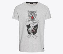 T-Shirt 'Samer' graumeliert
