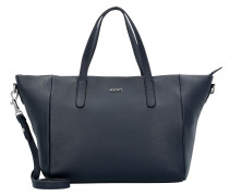 'Helena' Handtasche 27 cm Leder dunkelblau