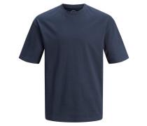 T-Shirt violettblau