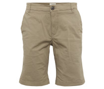 Chino-Shorts hellbeige