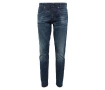 Jeans 'D-Staq 5-pkt Tapered' blue denim