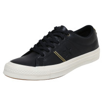 Sneaker 'one Star - OX' gold / schwarz