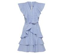 Kleid 'yasaya SL' blau / weiß
