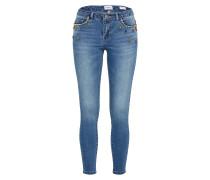 Regular Ankle Jeans 'carmen' blue denim