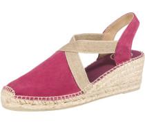 Sandaletten 'Tona' beige / eosin