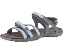 Sandalen 'Pico W' hellblau / grau / weiß