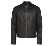 Bikerjacke 'jororiginals' schwarz