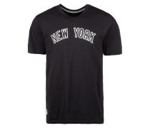 T-Shirt 'mlb New York Yankees' blau / weiß