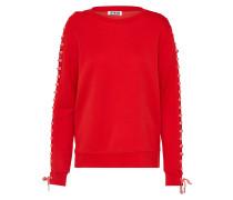 Sweatshirt 'cita' rosa / rot