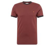 T-Shirt 'groves Ringer SS Tee' rot