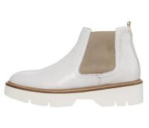 Boots greige / weiß