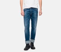 Jeans 'grover Super-Stretch-Denim' blau
