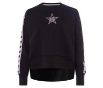 Sweatshirt 'Lyria' altrosa / schwarz