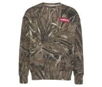 Sweatshirt brokat / khaki