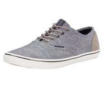 Leinen Sneaker hellblau