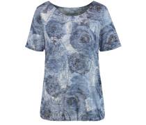 Shirt himmelblau / hellgrau
