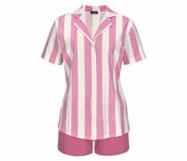 Shorty 'Dreams' pink / weiß