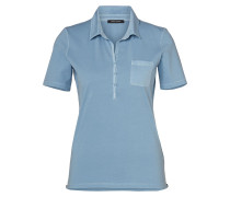 Polo-Shirt hellblau